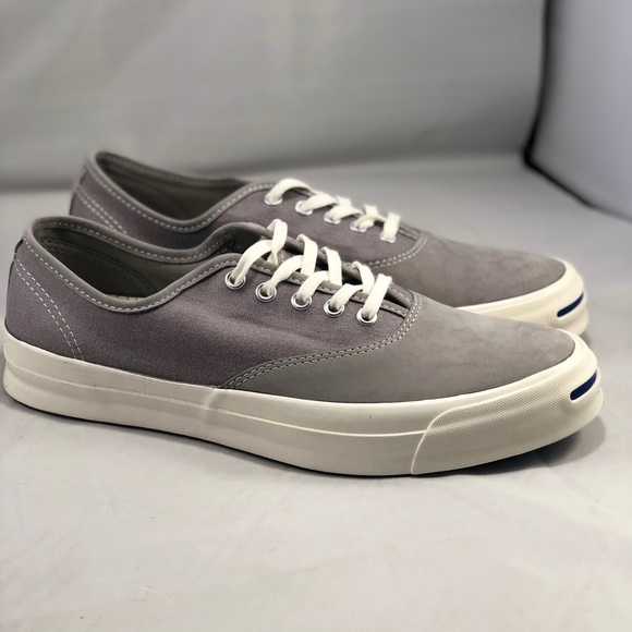 daed5118c1d6 Converse Jack Purcell Men s Grey Lace Up